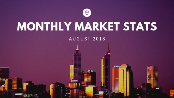 Monthly Market Stats - August 2018